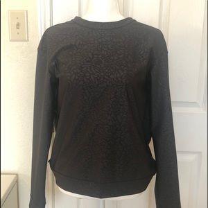 Lululemon Athletica Black Shirt size 6